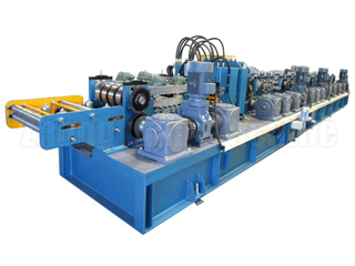 자동 Z Purlin Roll Forming Machine / 완전 자동화 된 Purlin Rollformer